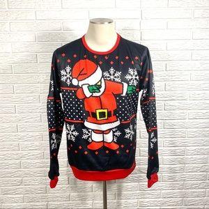Dabbing Santa Claus Christmas Sweatshirt